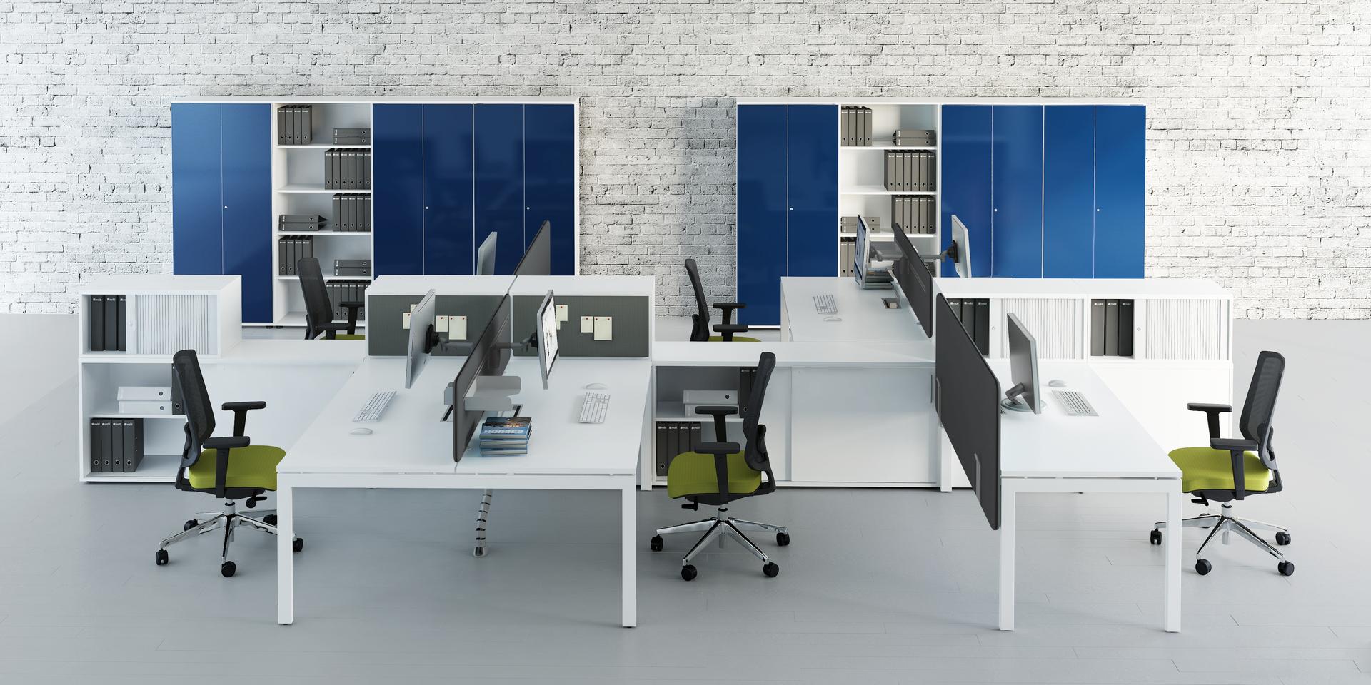 Schreibtisch f r 2 personen ogi u hochwertige b rom bel in for Schreibtisch 2 personen