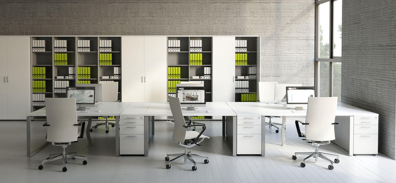 Schreibtisch für 2 Personen OGI_Q Teamarbeitsplatz Büromöbel ...