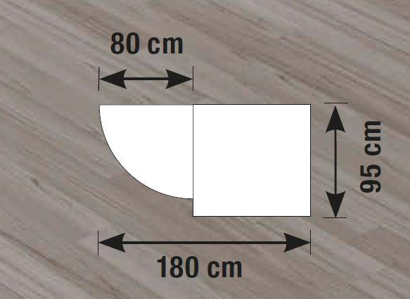 empfangstheke prag 2 sofort lieferbar design theke anthrazit weiss empfangstisch ebay. Black Bedroom Furniture Sets. Home Design Ideas