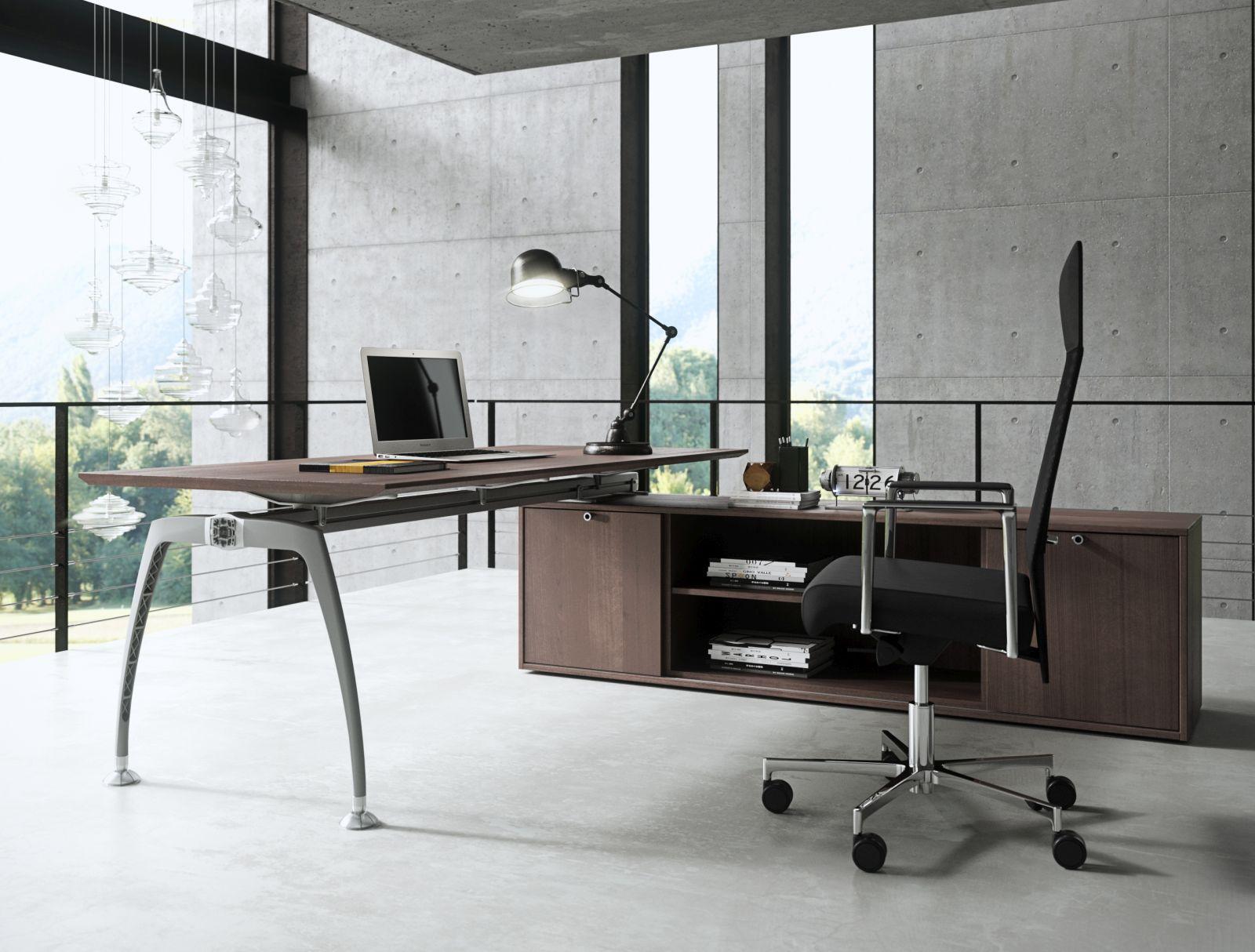 Schreibtisch TIPER Mit Ansatztisch Winkelschreibtisch