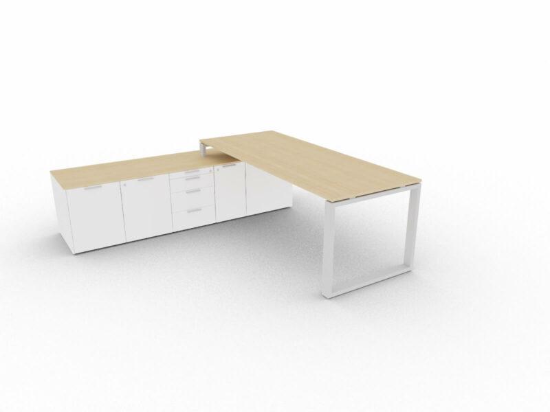 Chefschreibtisch-mit-grossem-Sideboard-Eiche-Weiss