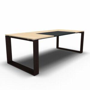 Schreibtisch Arche Leder 2