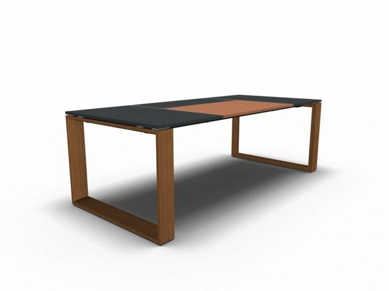 Schreibtisch Arche Leder 3