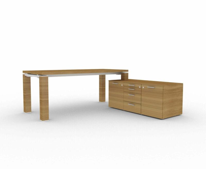 Schreibtisch-Jet-mit-kleinem-Sideboard_Nussbaum_2