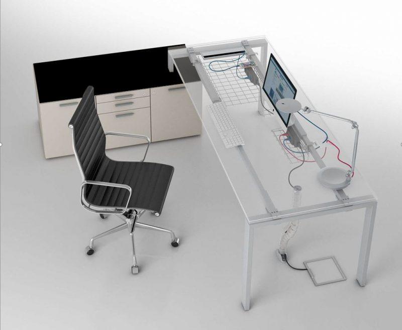 Schreibtisch_mit_kleinem_Sideboard_Glider