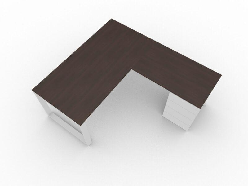 Winkelschreibtisch-mit-Container-Wenge-Weiss_2