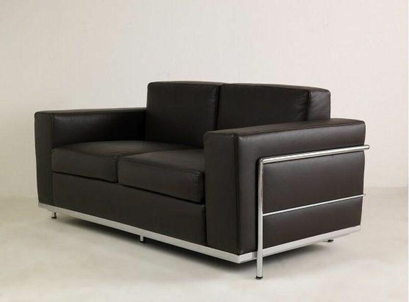 Ledersofa Bauhaus Stil