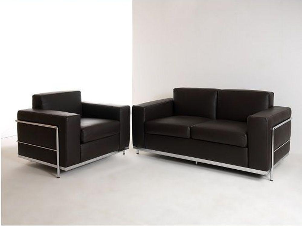 Ledersofa bergamo 2 sitzer klassiker direkt chefzimmer for Designer ledersofa