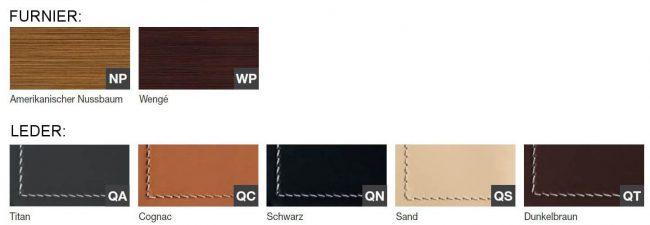 Farben-Arche-Leder-Furnier