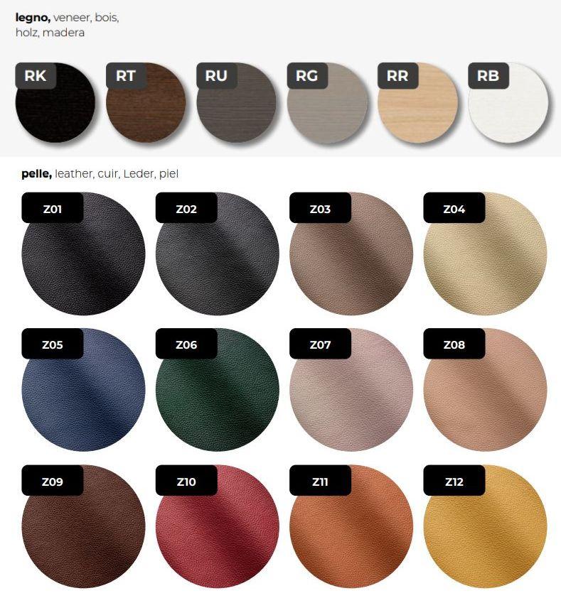 Furnier-Farben-Leder