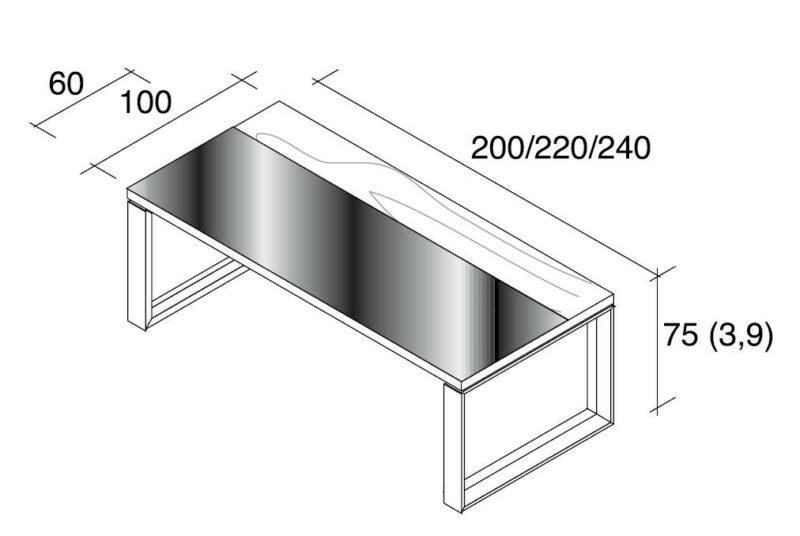 Schreibtisch Arche Holz-Glas_4