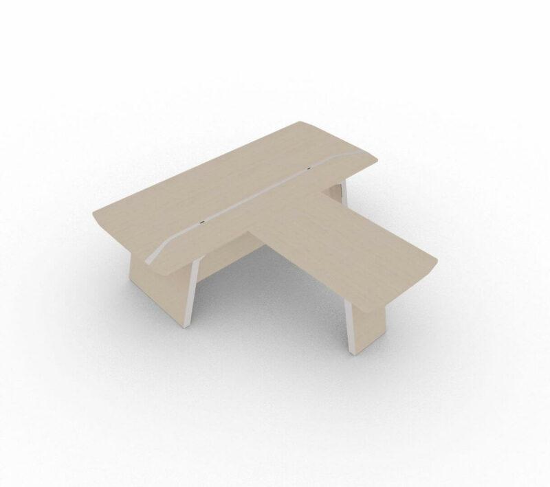 Schreibtisch-mit-Besprechungstisch-Metar-Eiche-grau