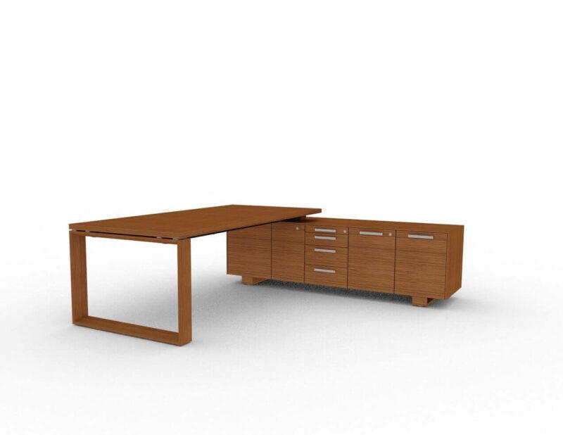 Schreibtisch-mit-Sideboard-Arche-Nussbaum