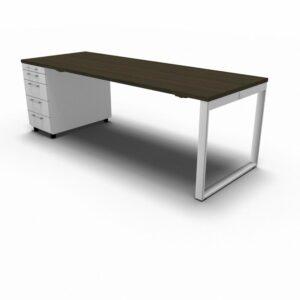 Schreibtisch mit Container YAN_Z_2