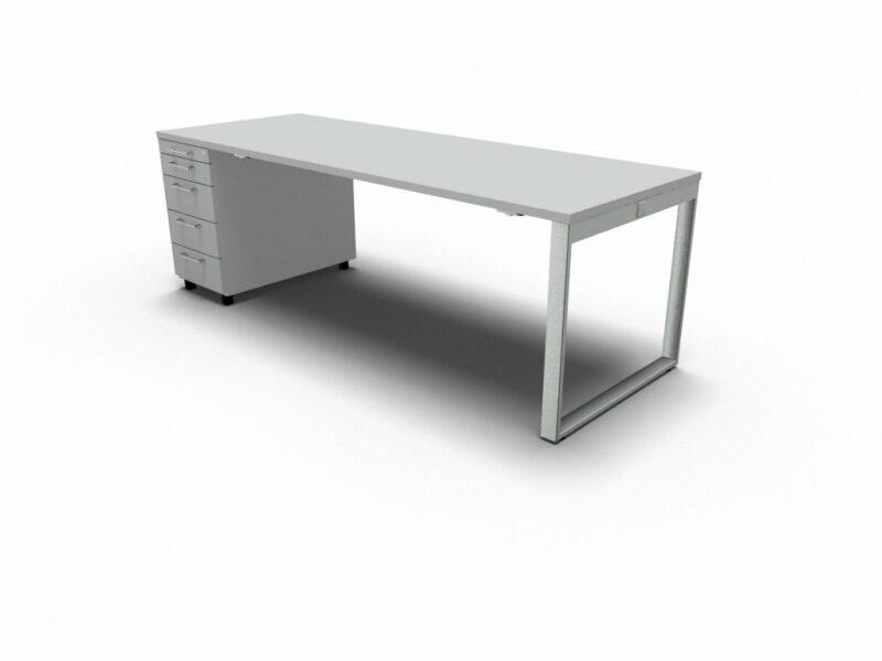 Schreibtisch mit Container YAN_Z_4