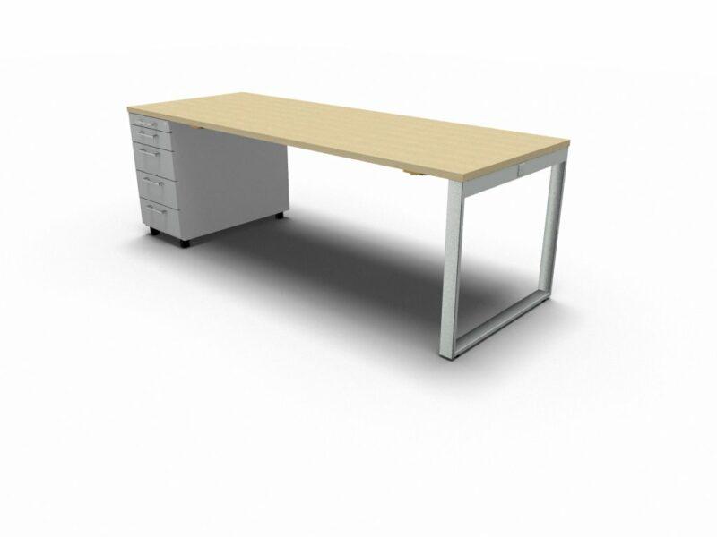 Schreibtisch mit Container YAN_Z_5