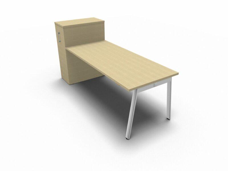 Schreibtisch mit Container Yan_m_2