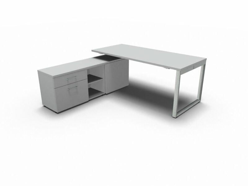 Schreibtisch mit Managerschrank Yan_Z_3