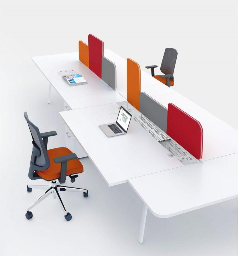 YAN-M-4-Pers-Schreibtisch