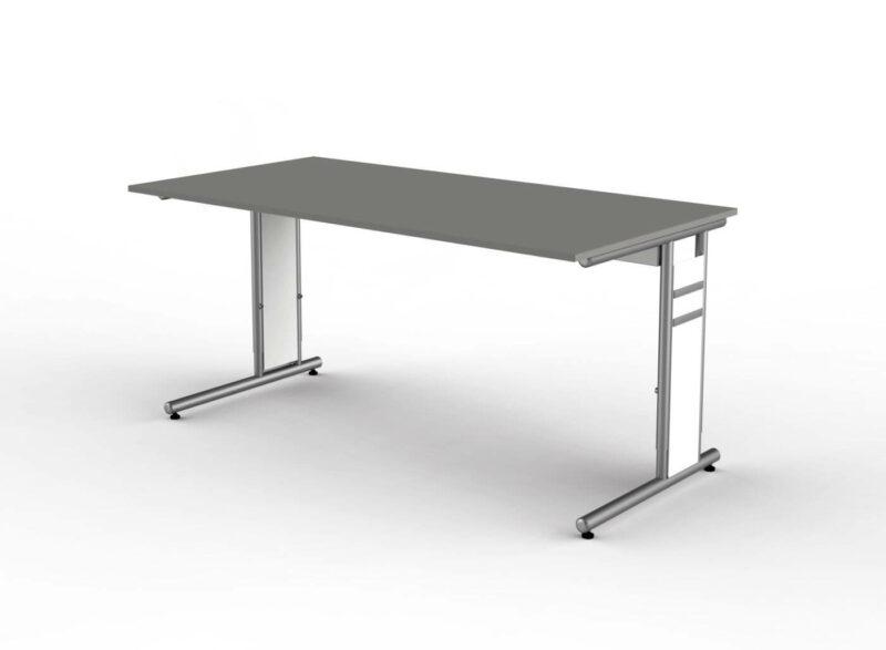 Schreibtisch-Neapel-C-Fuss-Gestell-grafit