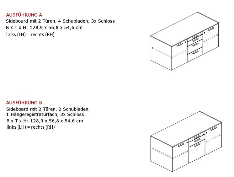 Sideboard-JET-EVO-klein-Ausführung-neu