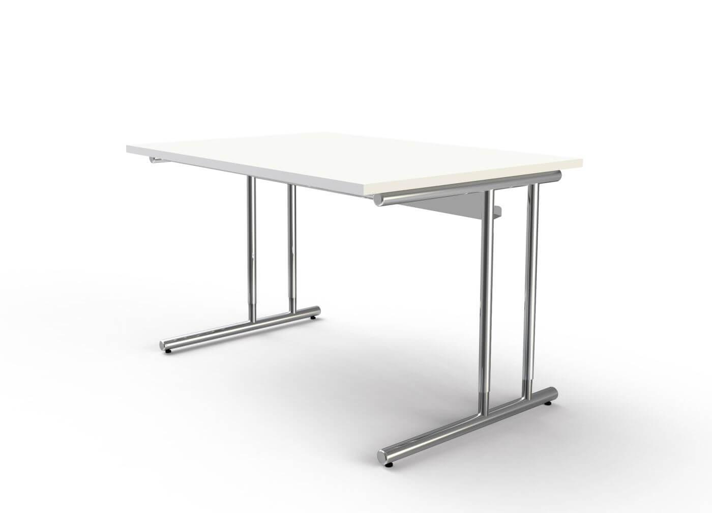 Schreibtisch Höhenverstellbar Weiß 2021