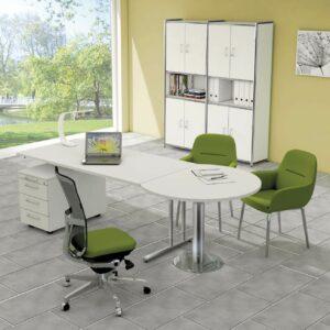 Schreibtisch-mit-Besprechungstisch-Sevilla_weiss