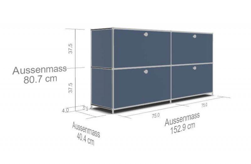Sidebord-System4-4-Schubladen