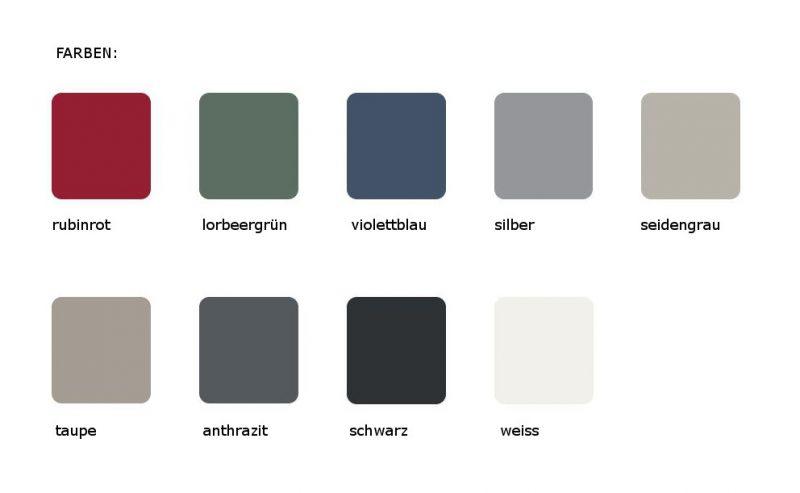 Viasit System4 Farben