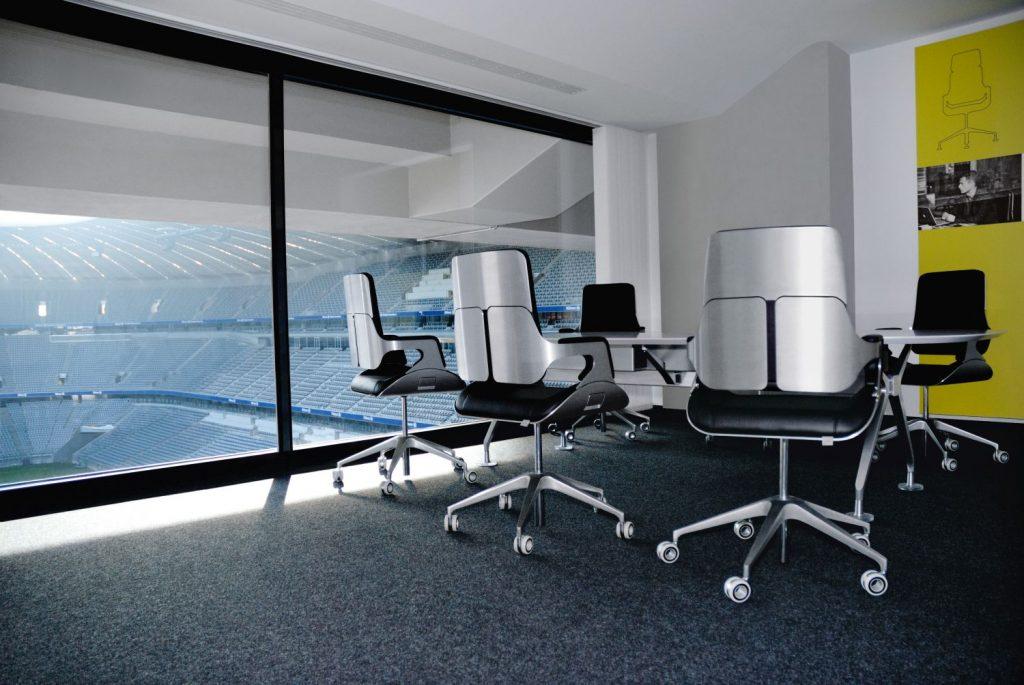 Allianz Arena Bürostühle Silver