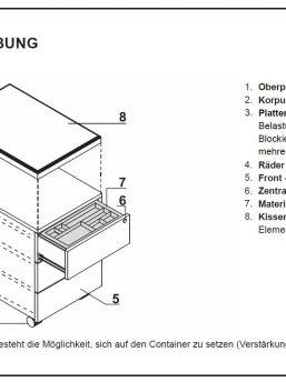 Rollcontainer_MIT130