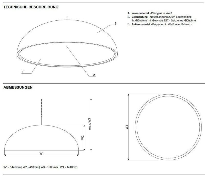 Design Bürolampe Sunbeam