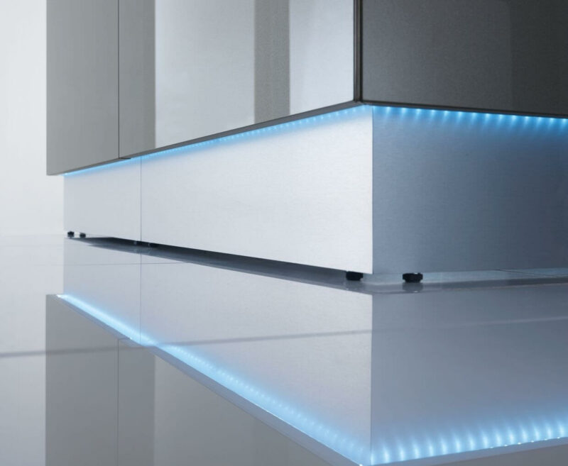 Empfangstheke-Deno-LED-Beleuchtung