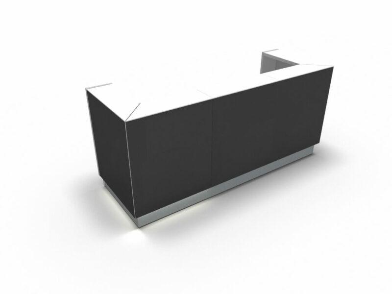 Empfangstresen-Deno-LIN42-Front-schwarz