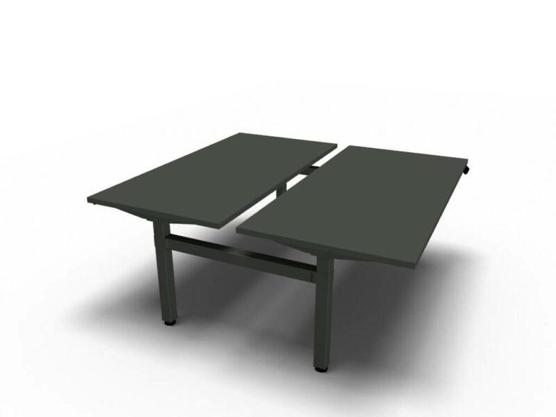 Bench-Schreibtische-mit-elektrischer-Hoehenverstellung-anthrazit