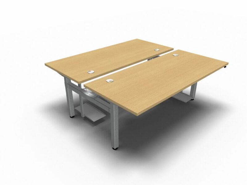 Schreibtisch-Ogi-Drive-Bench-PC-Halter-Kabeldurchlaesse-Kabelkorb