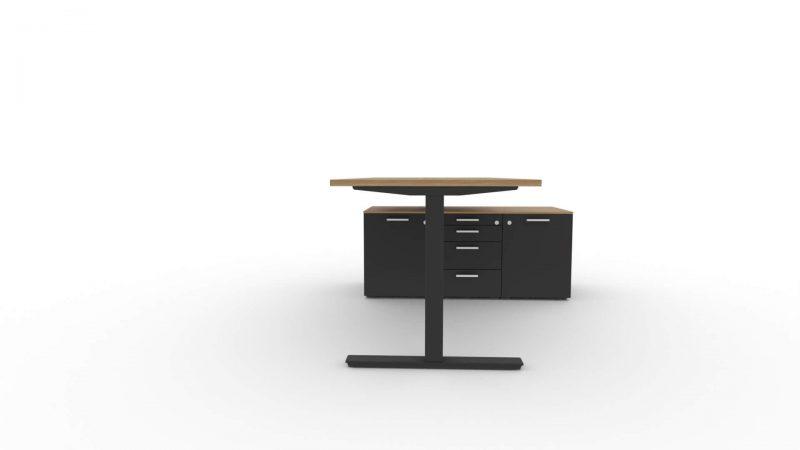 Schreibtisch-Winglet-mit-Sideboard-Nussbaum-Schwarz