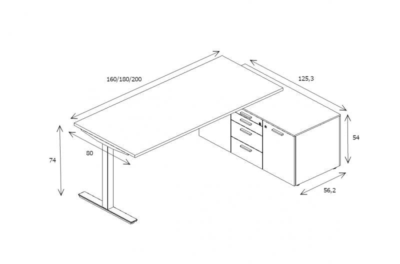 Schreibtisch-mit-Sideboard-Winglet-Abmessungen