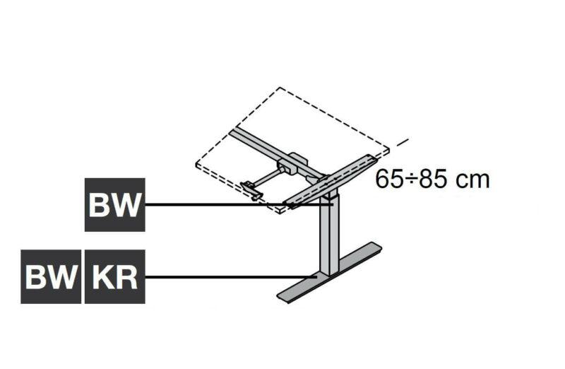 per-Kurbel-hoehenverstellbar