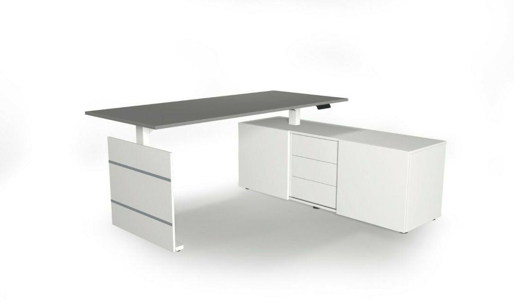 Schreibtisch-hoehenverstellbar-lichtgrau