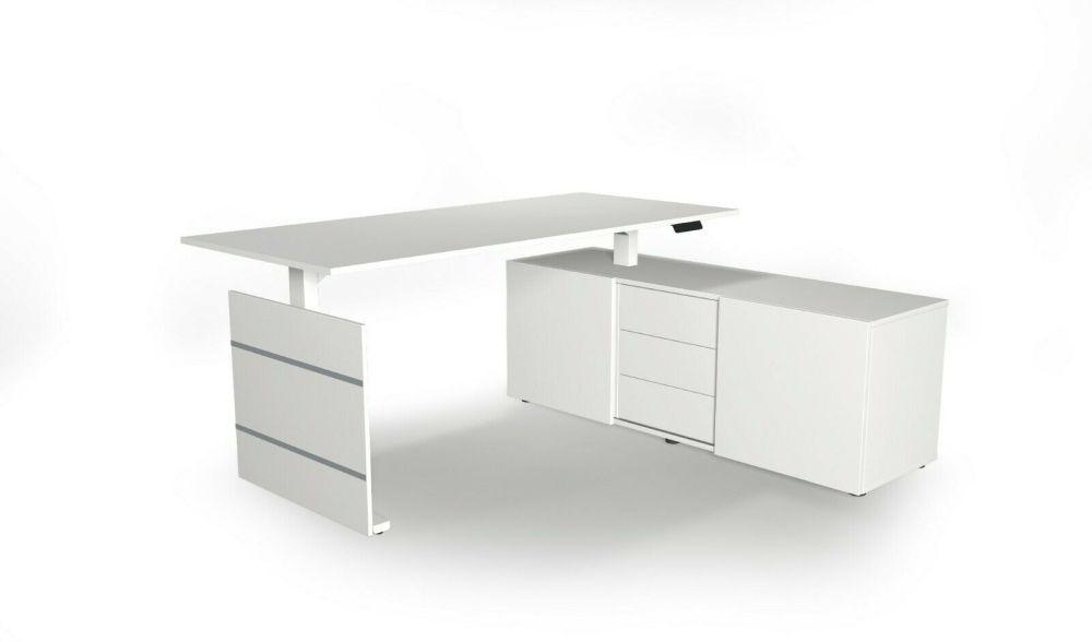 SchreibtischUpDownSideboard-weiß