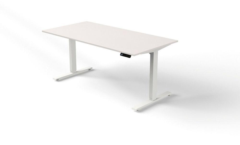 SchreibtischUpDownweiß
