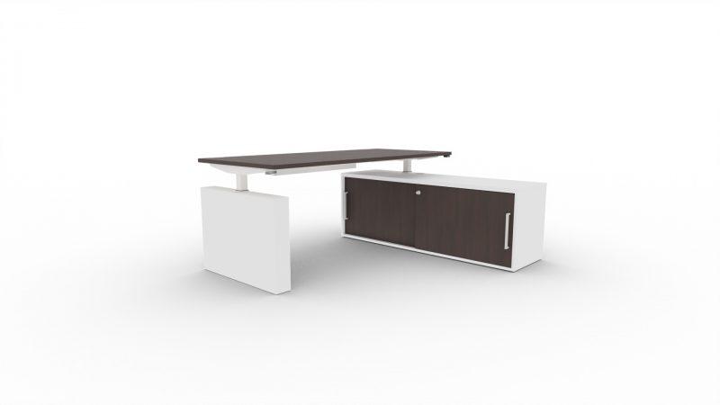 Steh-Sitztisch-Winglet-Wenge-Weiss
