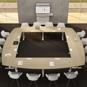 Konferenztisch-Winglet-Seminartisch