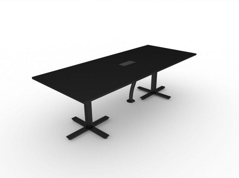 Konferenztisch-elektrisch-hoehenverstellbar-Winglet-Schwarz