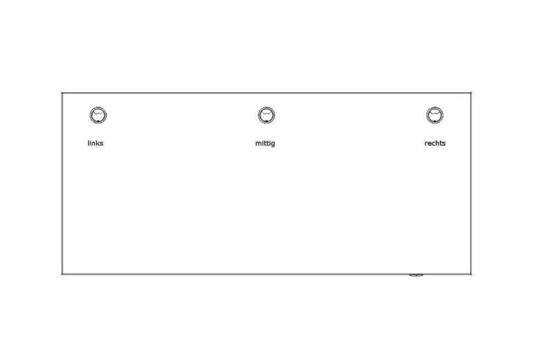Kabeldurchlass-Position