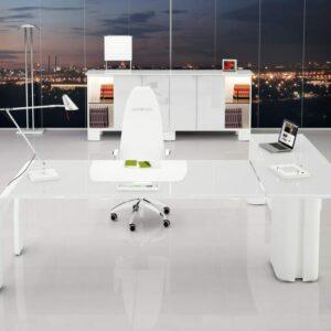 Schreibtisch mit Anbautisch ALFA