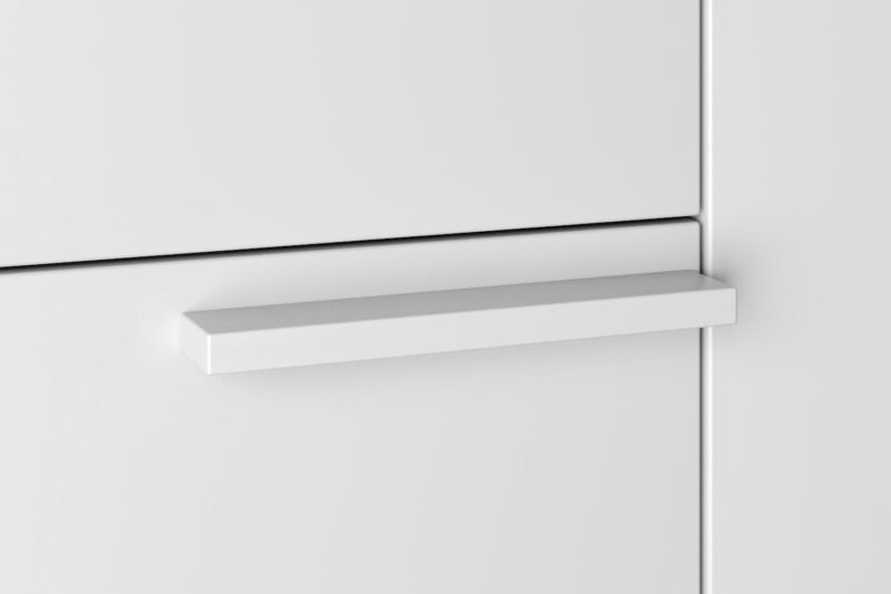 Standard-Griff-Aluminiumfarbig