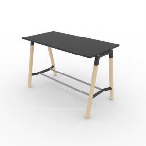 Hochtisch-Polare-Tischplatte-schwarz