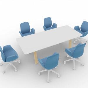 Konferenztisch-Take Off Country-Tischplatte-Weiss_2